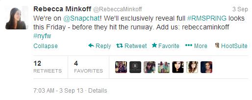 new york fashion week minkoff