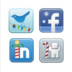 christmas-winter-social-media-icons