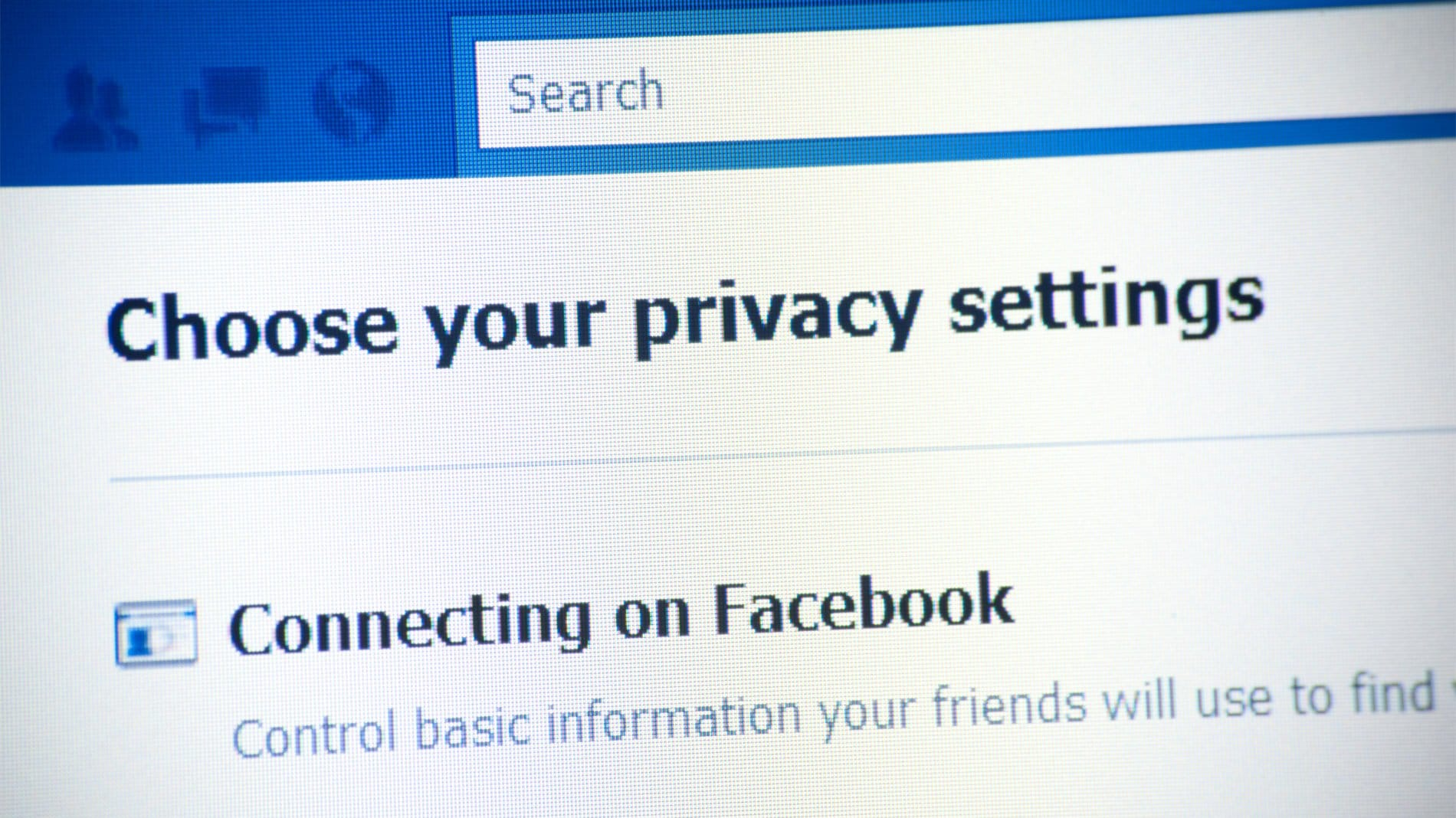 Privacysettings
