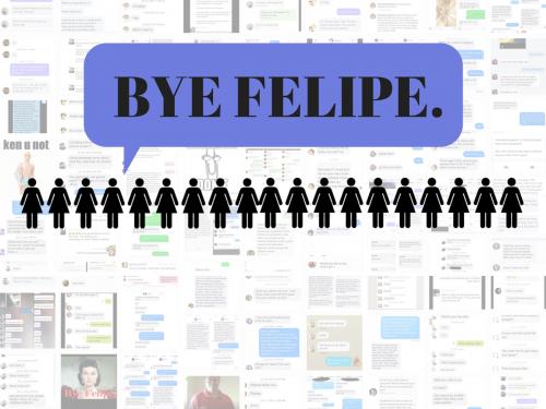 Bye Felipe Instagram