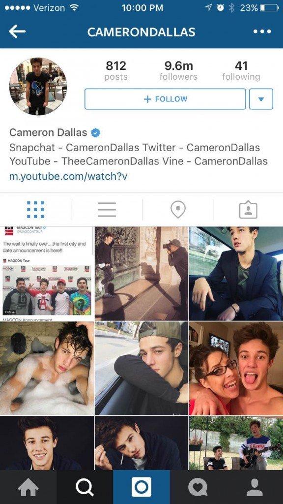 instagram famous teens
