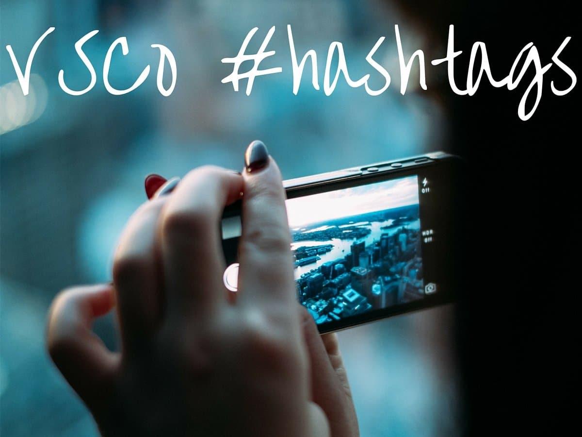 VSCO hashtags