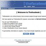 Facebook 2004