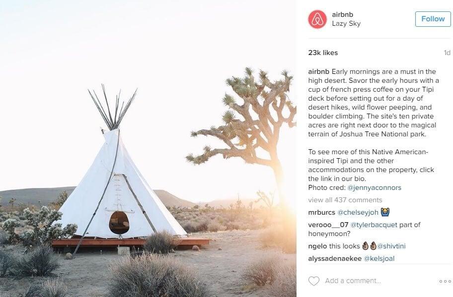 Airbnb, Social Media Style, Social Media Persona, Brand Style, branded social media style, Brands Perfected Social Media Style