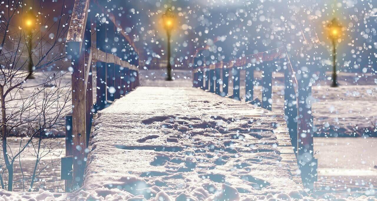 snow day captions
